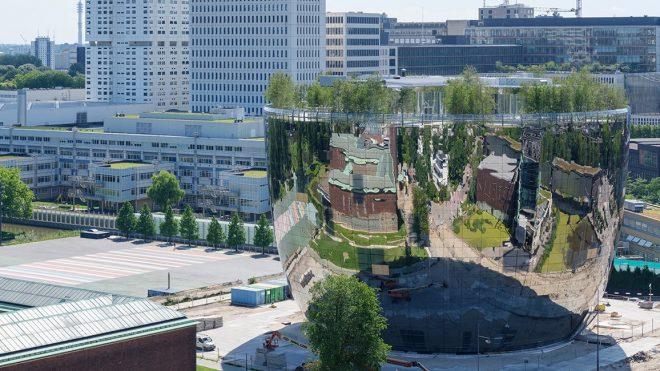 Reducción de impuestos por construir techos verdes